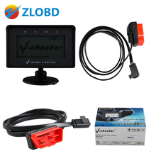 DHL free 2017 newly V-CHECKER A301 OBD2 OBD auto Diagnostic scanner A 301 Multi-Function Trip Computer V-CHECKER A-301 in stock