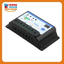 5pcs S101 10A 12V/24V controller for off-grid solar system,  protects the battery from being over charged
