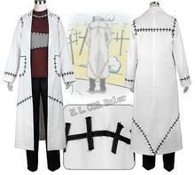 Soul Eater Cosplay Franken Stein Doctor Costume Cosplay Free Shipping