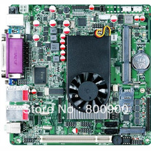 Industrial computer motherboard Intel Atom D525 dual core Intel NM10 Express supports 9 RS232 serial ports SSD WIFI 3G module