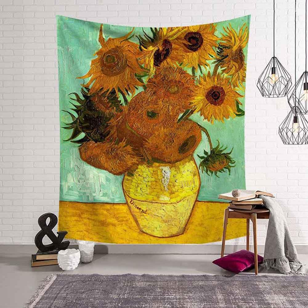 GT8069-1 Vincent van Gogh Sunflower