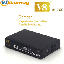 V8 super powervu dvb s2 support 3g iptv cccam newcamd PVR via usb Wifi dongle satellite receiver Better openbox z5 mini cloud