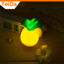 LED Pineapple Night light lighting Swtch Control lamp 110V-240V Nightlight Bulb For Baby Bedroom Gift