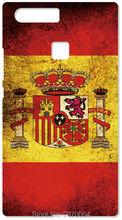 Spain Flag Cell Phone Cover For Huawei Honor 6 7 Ascend P6 P7 P8 P9 P10 Lite Mate 7 8 For iphone 5 5S SE 5C 6 6S 7 Plus Case