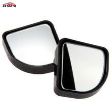 ZATOOTO  (20 pieces/lot) 2015 New Convex Wide Angle Adjustable Car Blind Spot Mirror Black Auto Vehicle 360 Degrees
