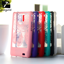"Luxury Flower Hard Plastic Phone Cases for Samsung Galaxy S2 SII I9100 4.3"" Covers Dream Catcher Clear Retro Shell Bags Hood"