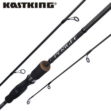 KastKing Perigee Baitcasting Spinning Fishing Rod Lightweight 2 Section Portable Fishing Rod Medium-Action Carbon Casting Rod