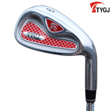 Brand TTYGJ. Single 9 IRON Regular Flex for beginner. 9iron golf club steel or carbon shaft. golf club #9 steel golf 9(China)