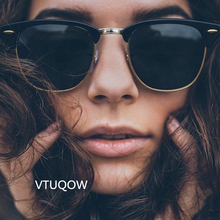 Luxury Vintage Polarized Sunglasses Women Brand Designer Retro Sun Glasses For Women Men Male Lady Female Sunglass Mirror Shades(China)