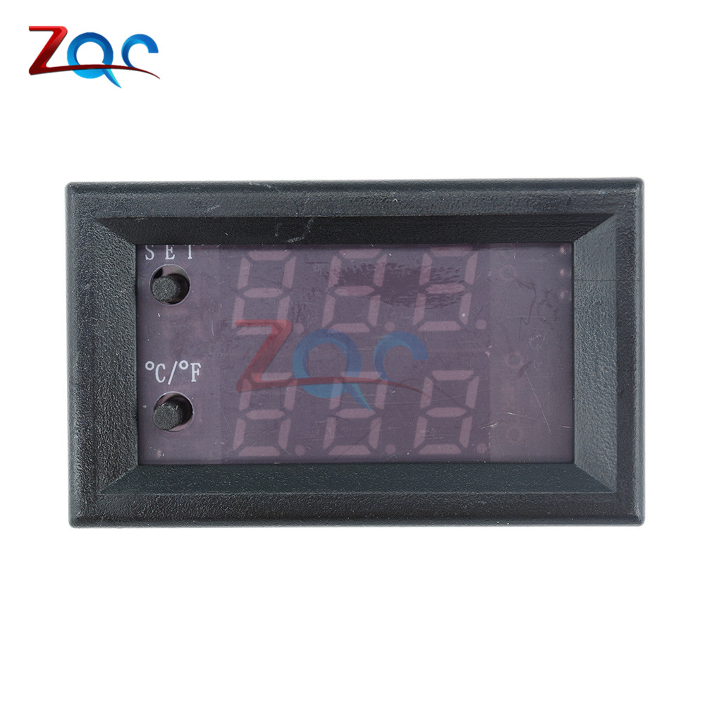 W1209WK W1209 WK W1219 DC 12V LED Digital Thermostat Temperature Control Thermometer Thermo Controller Switch Module +NTC Sensor 7