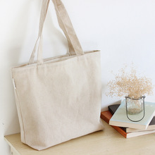 Blank canvas bag plain shoulder bags shopping bag solid shopper bag school book bags free shipping