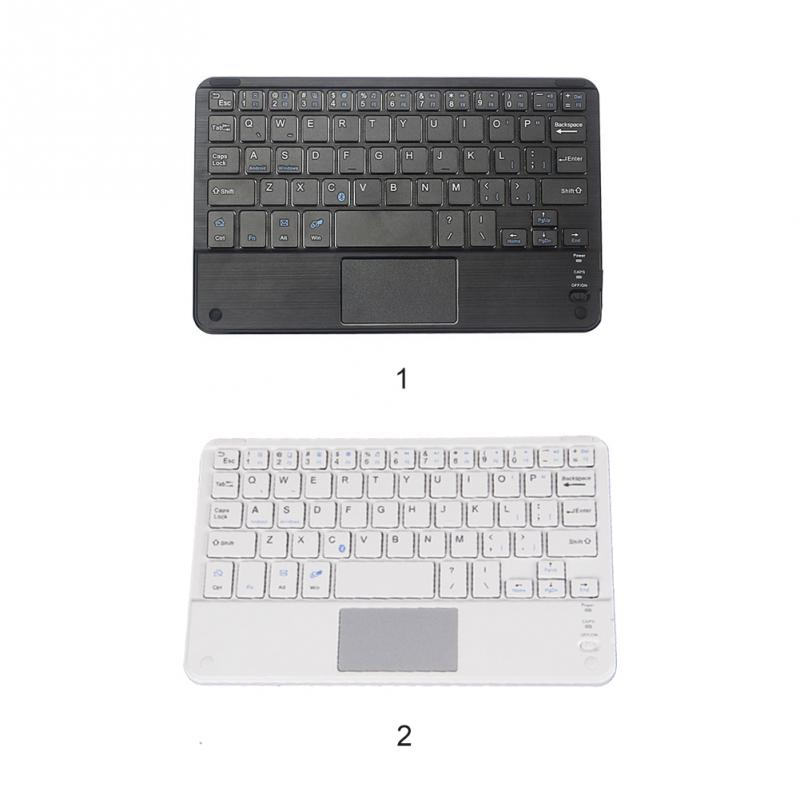 High Quality Wireless Bluetooth Keyboard Touchpad For All 7-10 inch Android Windows Tablets Drop Shipping #0703 9