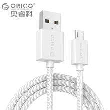 ORICO Micro USB Cable 2A Data Charging Phone Cable for Samsung HTC Nokia SONY Xiaomi Huawei 100 cm(China)