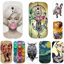 Cool Fashion Cover Case For Samsung Galaxy S3 Mini i8190 8190 Soft Silicone TPU Back Cover For Samsung S3 Mini S3Mini Phone Case
