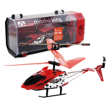 Mould King RC Helicopter Remote Control Toys Metal 3.5CH RC Toy for Children and Adult(China)