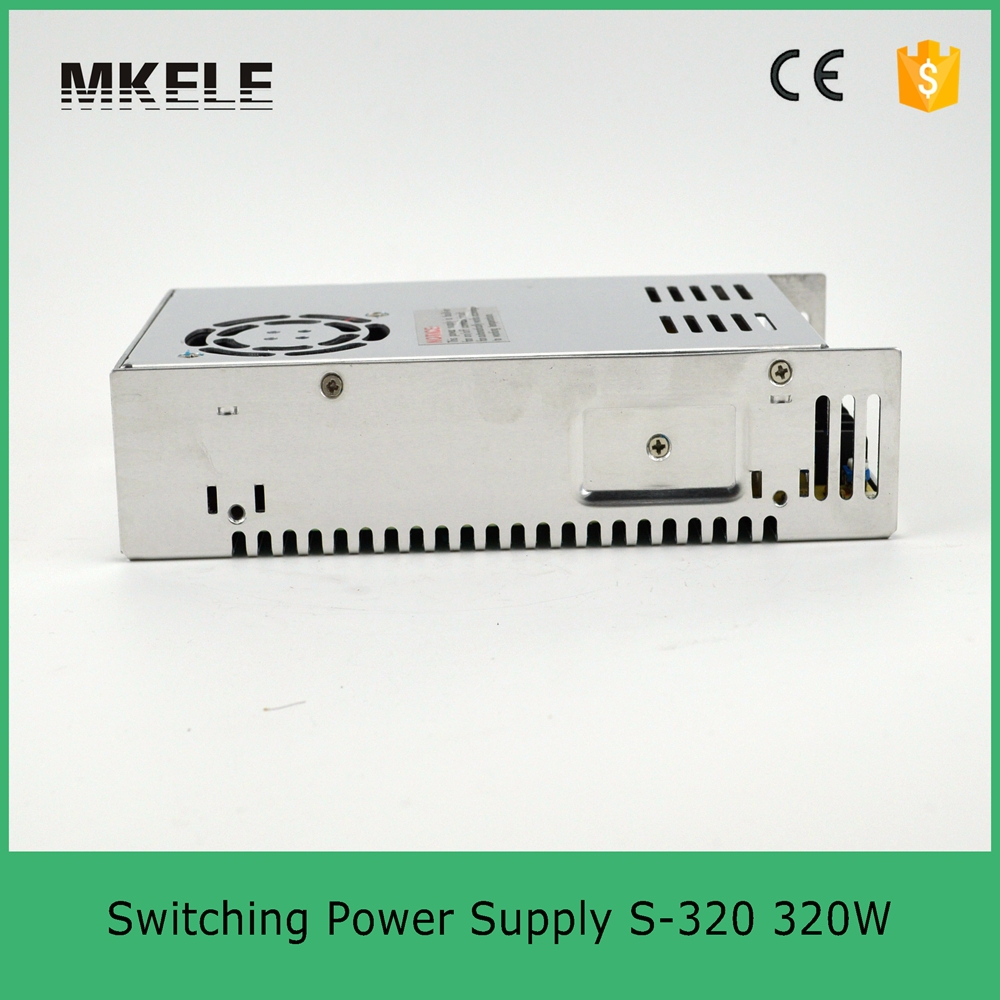 transform 220v ac to 5v dc S-320-5 320W 5v 50A ac dc converter variable dc voltage regulator led switching power supply<br>