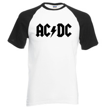 fashion brand clothing AC DC men t shirt 2017 new summer 100% cotton ACDC raglan men t-shirt hip hop o-neck t shirt for fans
