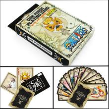 54 pcs/pack Anime One Piece Collection Poker Cards Playing Cards Cosplay Board Game Cards With Box