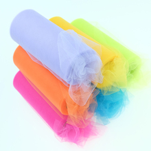 2016New!(22m/roll)15cm Crystal Tulle Plum Organza Roll Sheer Gauze Element Table Runner&Wedding Birthday Christmas Decorations