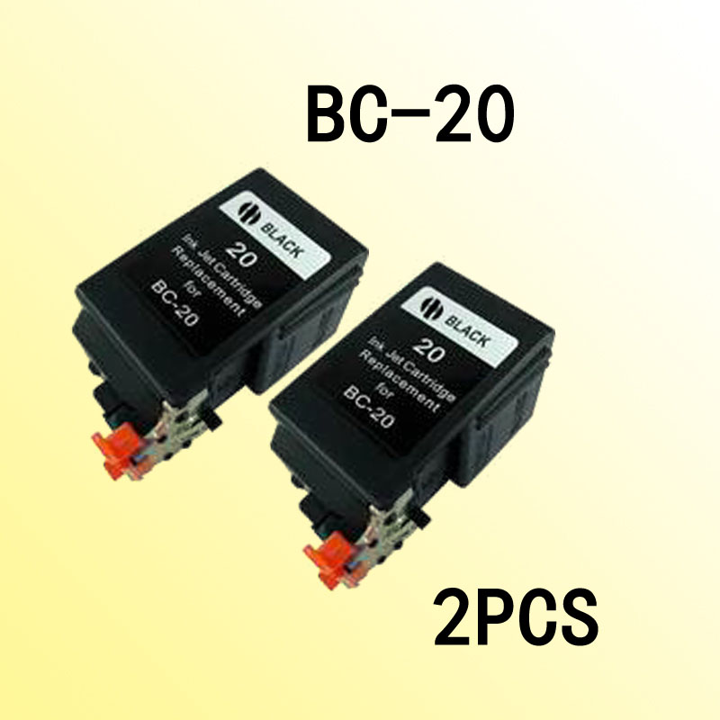 2x bc20 ink cartridge compatible for CANONA BC-20 bc 20 BJC-4650/CANON BJC-4000/4100/4200 4200Photo/4300/4300SP4304<br><br>Aliexpress