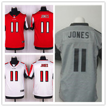 Mens 11 Julio Jones Jersey 2017 Rush Salute to Service High Quality Football Jerseys(China)