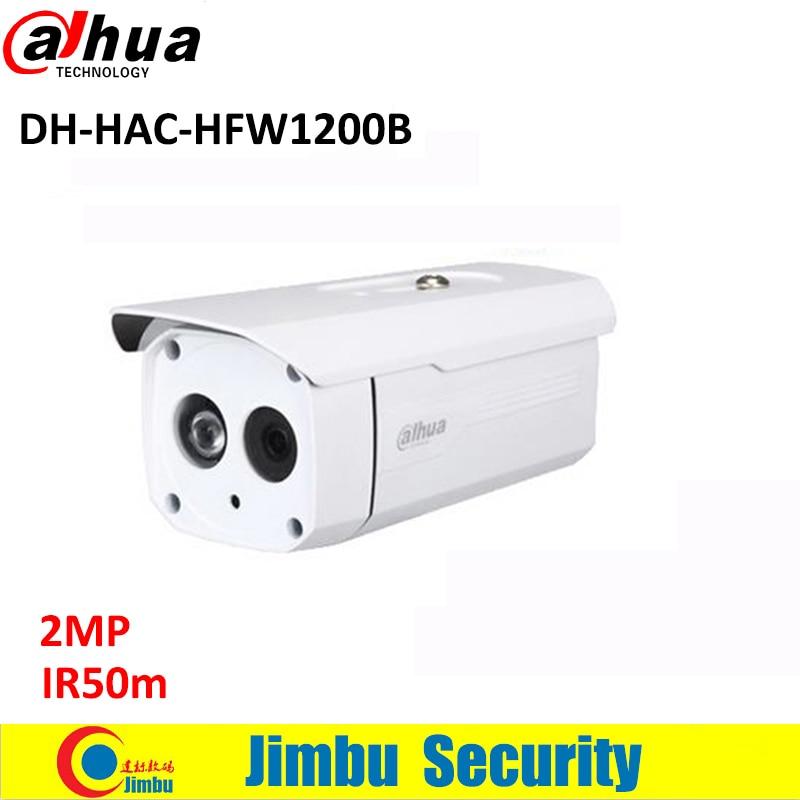 DAHUA HDCVI 2MP Bullet Camera HFW1200B CMOS 1080P IR 50M IP66 HAC-HFW1200B security CCTV camera <br>