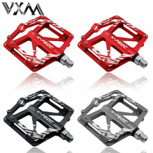 Bicycle Pedals High Quality Mountain Bike Pedals MTB Road Cycling Sealed Bearing Pedals BMX Cycling UltraLight Pedal, 3 Colors