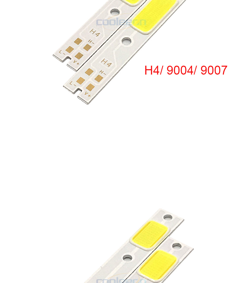 c6 car headlight cob chip light source H1 H3 H4 H7 cob lamp (10)