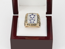 Copper solid rings 1977 Dallas Cowboys Replica Super Bowl Championship Rings With Wooden Boxes,Size 10-13(China)