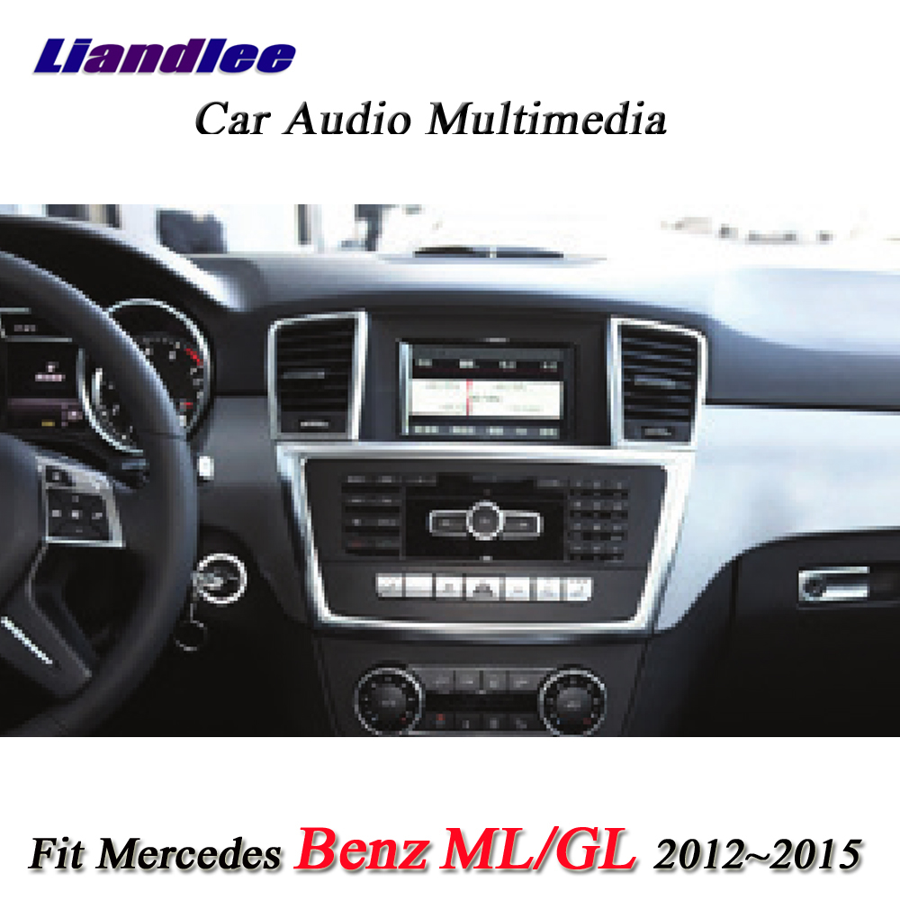 Liandlee Android System For Mercedes Benz MB M GLE ML W166 63 250 350 400 500 550 GPS Navi Navigation TV BT Carplay Multimedia-1