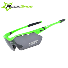 Buy RockBros Polarized Cycling Eyewear Cycling Glasses & 5 Lens Bicycle Bike Goggles Eyewear UV400 Outdoor Sports TR90 Sunglasses for $16.69 in AliExpress store