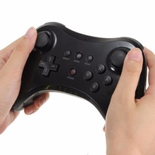 Classic bluetooth wireless gamepad controller joystick For Nintendo for wii u pro game remote console for wiiu Upgraded version(China)