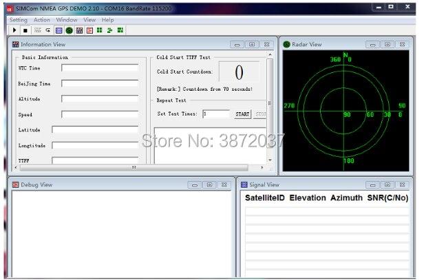 FZ2847-6-SIM868 Development Board GSM GPRS GPS BT Module