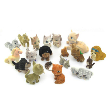 18PCS/ A lot   MEG Mini pets animals in my pocket little jungle farm animals puppy kitten bunny dolls kids toys  060201