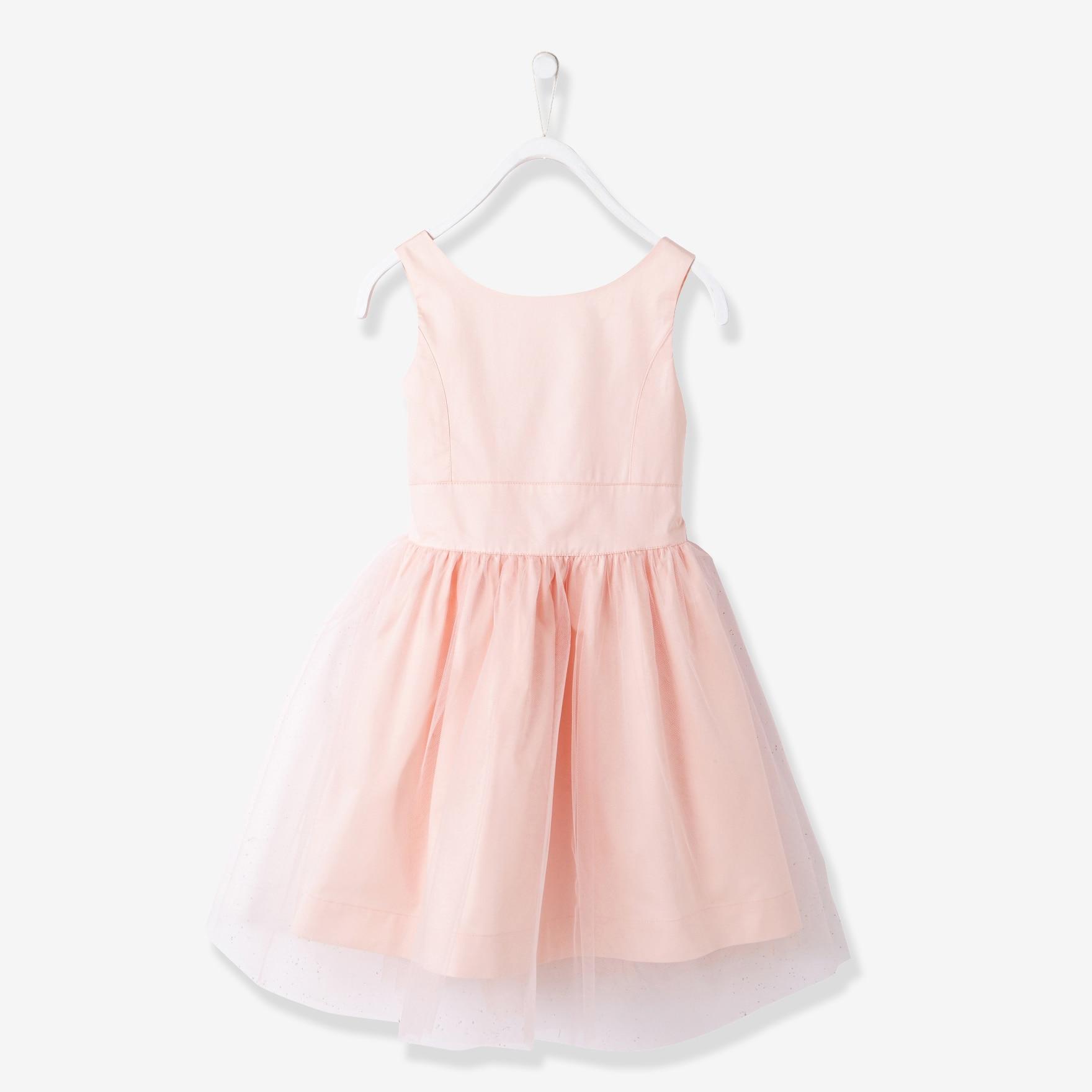 A halter dress Fairy Princess Pink Bow children 17 girls in a summer dress <br>