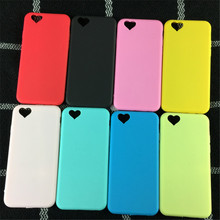 Fashion Exquisite Candy Colors Soft TPU Phone Cases For iPhone 5 5S 6 6SPlus 7 7Plus Protect Cover Loving Heart Camera Hole Case