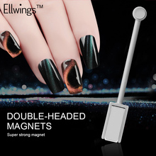 Buy Ellwings Magnet Double-headed Magnetic Plate Pen Strong Magnetic DIY Manicure Tool Magic 3D Cat Eye UV Gel Nail Polish for $1.10 in AliExpress store