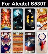 AKABEILA Mobile Phone Case For Alcatel OneTouch Idol Mini S530 6012 Protector sheath cell phone bags Housings Shells Hoods(China)
