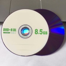 25 discs Grade A X8 8.5 GB Blank Fruit Printed DVD+R DL Disc(China)