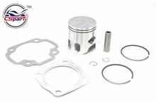 Performance 48MM 10MM Piston Ring Gasket kit 70CC Jog 50 50CC RR LC Kazuma MALOSSI IRON ATV Go Kart Buggy(China)