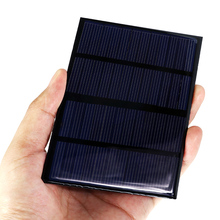 Solar Panel 12V 1.5W 115x85mm Polycrystalline Silicon DIY Battery Charge Solar Module Epoxy For Phone Mini Portable Solar Cells(China)