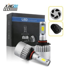 Auto LED Headlight 9012 H7 H4 H8/H11 LED HB3/9005 HB4/9006 H1 H3 6000K Car Head Light Bulb(China)