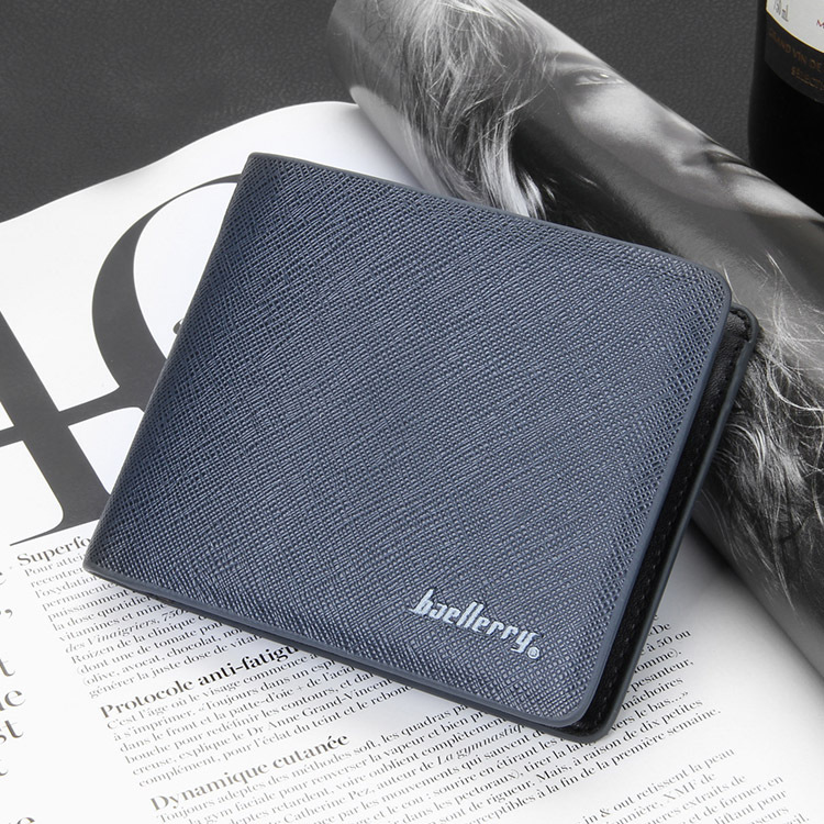 Fashion New Men Wallets Cross Vertical Style Fresh 4 Solid Colors Quality PU Leather Business Casual Credit Card Holder Wallet<br><br>Aliexpress