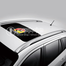 Abarth D-D-P Auto Roof Decal Sticker One way vision sticker(China)