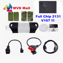 DHL Free Full Chip AN2131QC V167 For Renault Can Clip Diagnostic Interface Multi-Languages Best Scanner For Renault Up To 2016