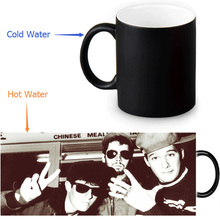 Beautiful Beastie Boys Magic Color Changing Coffee Mug Morphing Milk Mugs 350ml/12oz Tea Mug Halloween Gift(China)