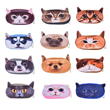 Brand Designer Cute Cosmetic Bags Organizer Handbag Animal Print Women Clutch Comestic Makeup Bag