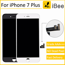 2PCS Grade AAA high screen for iPhone 7 plus LCD display screen Replacement Lens Pantalla with Touch Digitizer free ship