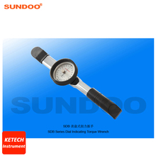 Sundoo SDB-6 0.6-6N.m Portable Pointer Dial Torque Wrench Tester Torsion Tester