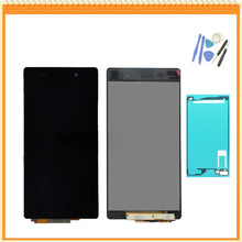 "Top Quality 5.2"" For Sony for Xperia Z2 LCD L50W D6502 D6503 LCD Display And Touch Digitizer Assembly with adhesive Tools"